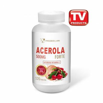 Acerola Forte- 500mg-Progress Labs-120 tab.