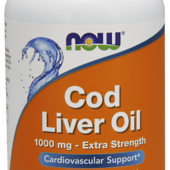 COD LIVER OIL 1000mg-Extra-Strenght - Tran 180kaps