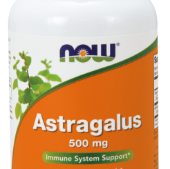 Astragalus-Now Foods- 500mg -100 kaps.