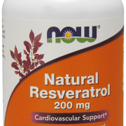 Natural Resveratrol 200 mg -Now Foods -120 kaps