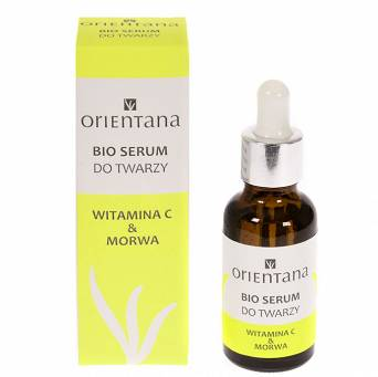BIO SERUM do twarzy Witamina C & Morwa