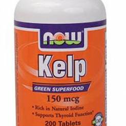 Kelp, 150 mcg-Now Foods - 200 szt