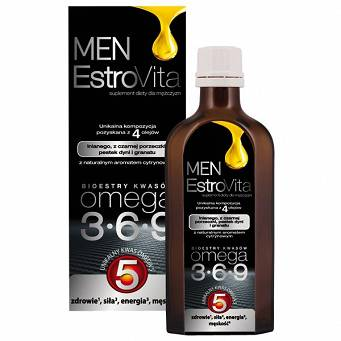 EstroVita Men prostata ,omega 5 ,150 ml
