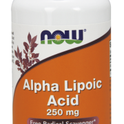 Alpha Lipoic Acid - 250mg -Now Foods - 60 vcaps