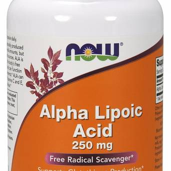 Alpha Lipoic Acid, 250mg - 120 vcaps