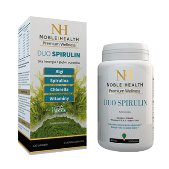 Spirulin Duo- Noble Health- 120 tab.