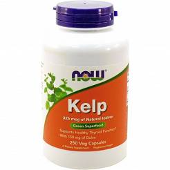 KELP-Jod- 325MCG-Now Foods -250 tabl.