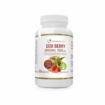 Goji Berry-odchudzanie-1500mg -Progress Labs-60 tab.