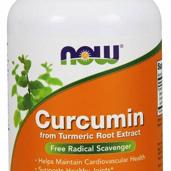 Curcumin - 120 vcaps NOW Foods