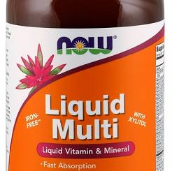 Liquid Multi, Wild Berry (Iron Free) - 473 ml.