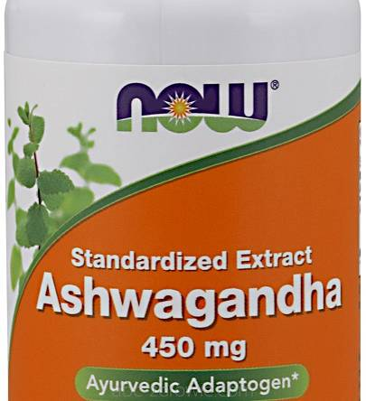 Ashwagandha Extract, 450mg -Now Foods  90 vcaps