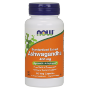 Ashwagandha Extract -Now Foods- 450mg - 90 vcaps