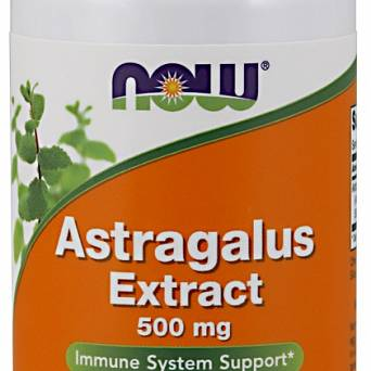 Astragalus Extract, 500mg Now Foods - 90 vcaps