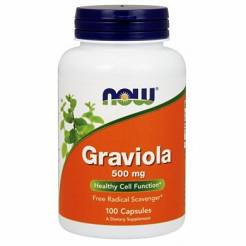 Graviola -NOW Foods- 500 mg 100 kaps.