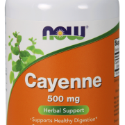 Cayenne- 500mg-Now Foods -100 caps.