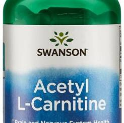 Acetyl L-Carnitine, 500mg - 100 vcaps