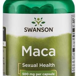 Maca Extract, 500mg - 60 caps