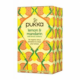 Pukka Herbata Lemon  and  Mandarin