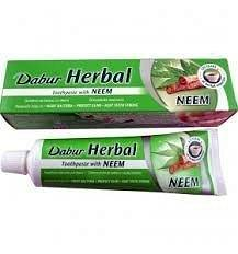 DABUR HERBAL PASTA DO ZĘBÓW Z NEEM 100ML/155G