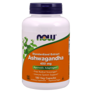 Ashwagandha- Extract - Now-Foods-450mg- 180 vcaps