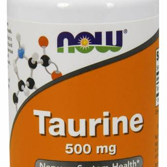 Taurine, 500mg - 100 caps