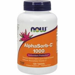 AlphaSorb-C - 1000mg -Now -Foods- 120 tablets