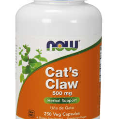 Koci Pazur- CAT'S CLAW -Now Foods- - 500mg 250 kaps.