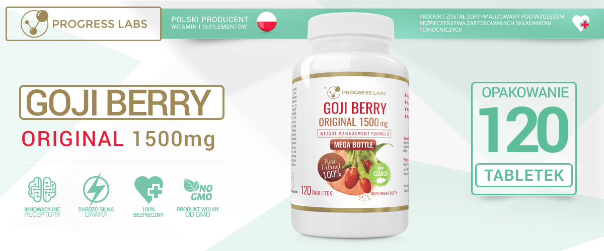 Jagody Goji- Berry Original 1500
